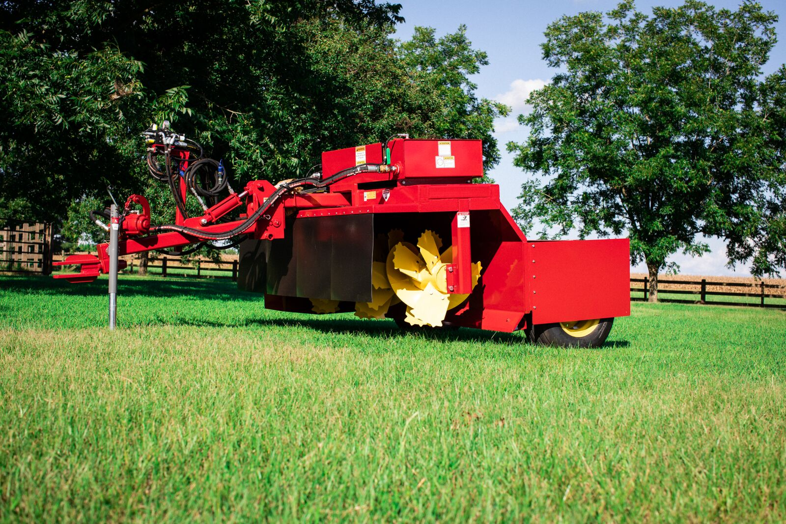 Poultry Windrower